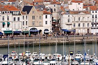 France, Charente Maritime, La Rochelle, Old port, the quai Duperré