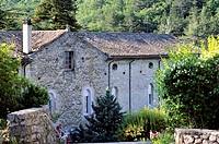 France, Drome, Drome Provencale, Montjoyer, Notre Dame d´Aiguebelle Trappist Cistercian Abbey
