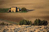 France, Drome, Drome Provencale, landscape near Bourdeaux