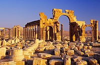 Syria, Palmyra, Great Colonnade