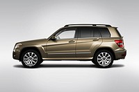 2010 Mercedes_Benz GLK_Class GLK350 in Beige _ Drivers Side Profile