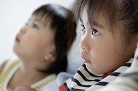 Profile of girl and boy (thumbnail)