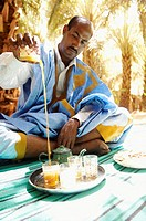 Tea, Adrar region, Sahara desert, Mauritania