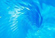 Close_up of whirling water
