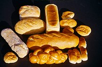 Different Shape Loaves Of Bread