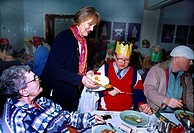 Salvation Army Christmas Dinner Christianity