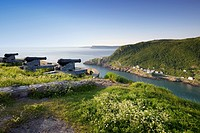 View from Signal Hill, National Historic Site. St. John´s, Newfoundland, Canada