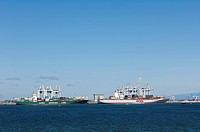 Roberts Bank Superport or Deltaport, Delta, British Columbia, Canada