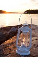 A paraffin lamp Stockholm archipelago Sweden.