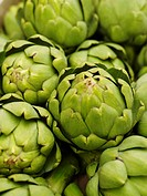 Artichoke close_up.