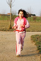 CHILD PLAYING A SPORT