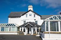 The Lands End Hotel. Land's End. Penn an Wlas. Cornwall. England. UK