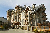 Hotel, Whistler, BC, Canada, site of the 2010 Winter Olympic Games