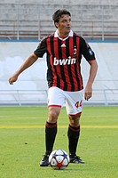 massimo oddo, varese 2009, friendly football match milan_varese