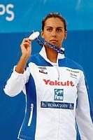 alessia filippi, roma 2009, fina world championship