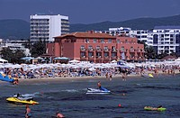 Sunny Beach near the town of Nessebar. Black Sea. BULGARIA4