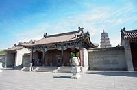Asia, China, Shanxi, Xi´an, Da Ci´en Temple