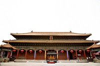 China, Shandong, Taian, Dai Temple, Tian Kuang Hall, UNESCO, World Heritage, World Cultural Heritage