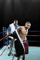 Boxer and coach