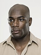 Headshot of a bald african american man