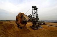 bucket_wheel excavator, Otzenrath, Germany