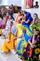 women in Mathura, India