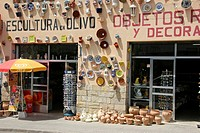 Mallorca ceramic shop in Manacor