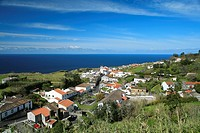The village of Feteiras, in Sao Miguel island, Azores, Portugal