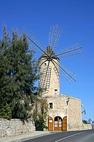 Windmill Sineu Majorca Spain