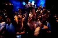 rock, concert, crowd