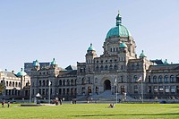 Parliament Buildings, Victoria, Vancouver Island, British Columbia, Canada, North America