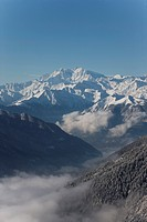 Val Vigezzo Vigezzo Valley with Mount Rosa in the distance, Piedmont Region, Italy, Europe