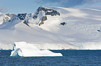 Iceberg in the Gerlache Strait, Antarctica, Polar Regions