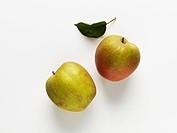 Two apples variety: Boskop