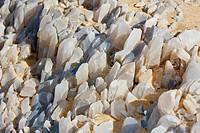 Crystal on Crystal Mountain, Libyan Desert, Egypt
