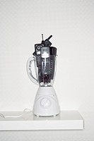 Mobile phones in electric blender