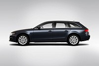 2010 Audi A4 Avant 2.0T quattro in Gray _ Drivers Side Profile