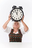 the eleventh hour, woman with alarm clock