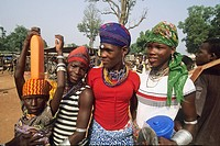 jeunes filles peules,young girls Peulh,Benin,Golfe de Guinee,Afrique de l´ouest,Gulf of Guinea,West Africa