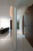 Hallway in modern interior