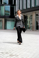 Businesswoman on the street