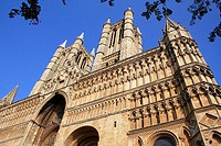 Lincoln Cathedral, Lincolnshire, the Midlands, UK