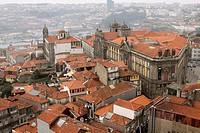Vistas de la ciudad de Oporto, Portugal.