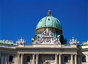 Dome of the Michaelertract, Hofburg Complex, Austria, Vienna