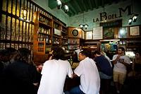 Drinking in La Bodeguita Del Medio, Havana, Cuba