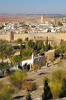 Collegiate church of San Bartolomé, 15th century, Belmonte, Ruta del Quijote, Cuenca province, Castilla-La Mancha, Spain, Europe