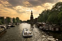 Amsterdam canal.