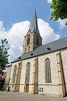 St Christophorus, church, Werne, Kreis Unna district, North Rhine-Westphalia, Germany, Europe