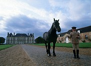 Photograph of a French manor in Normandy