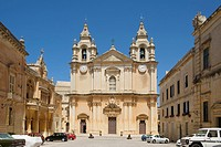 Church in Mdina, Malta, Europe